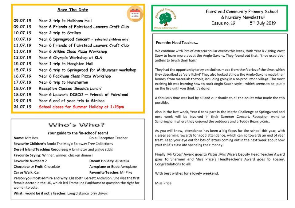 thumbnail of Newsletter 05_07_19