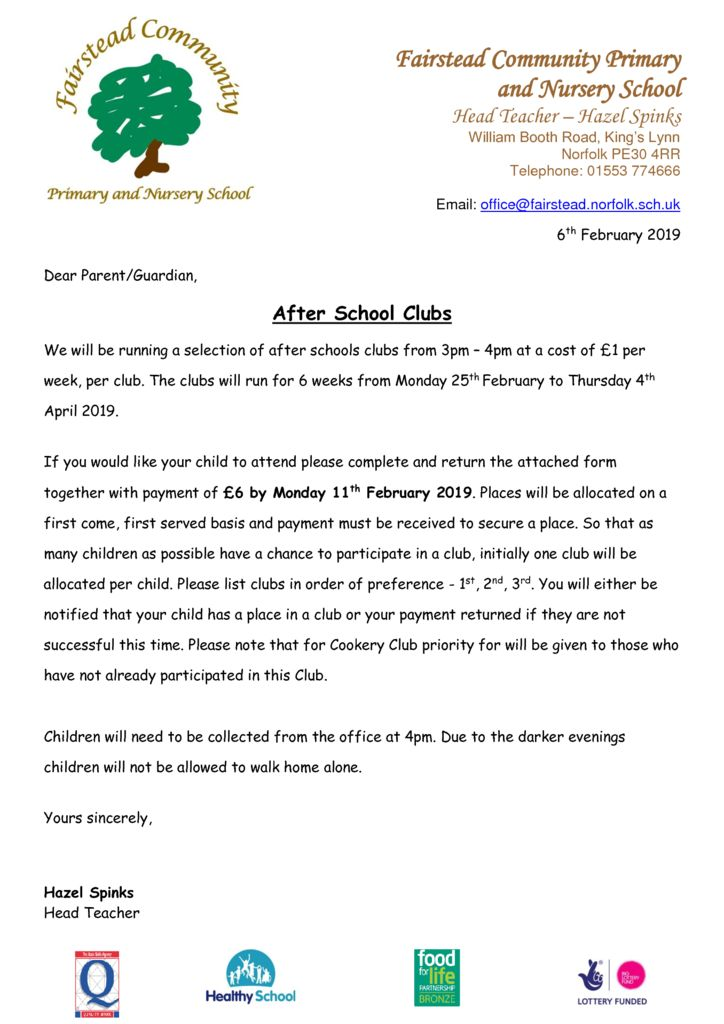 thumbnail of Clubs – Feb 19 Letter