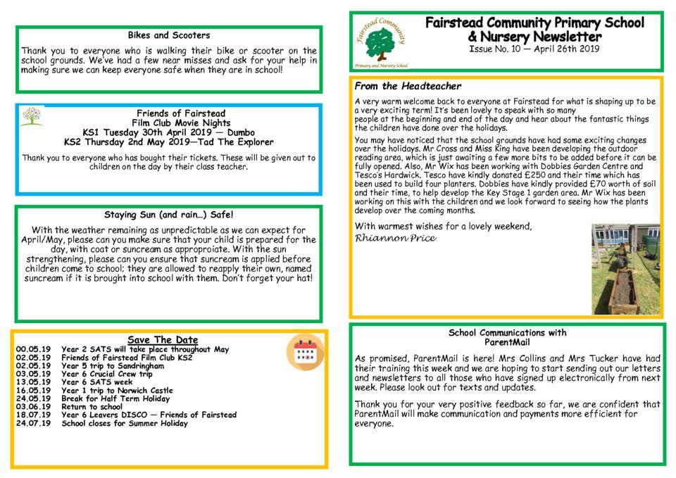 thumbnail of Newsletter 26.4.19