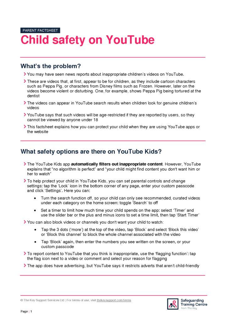 thumbnail of YouTube_safety_factsheet