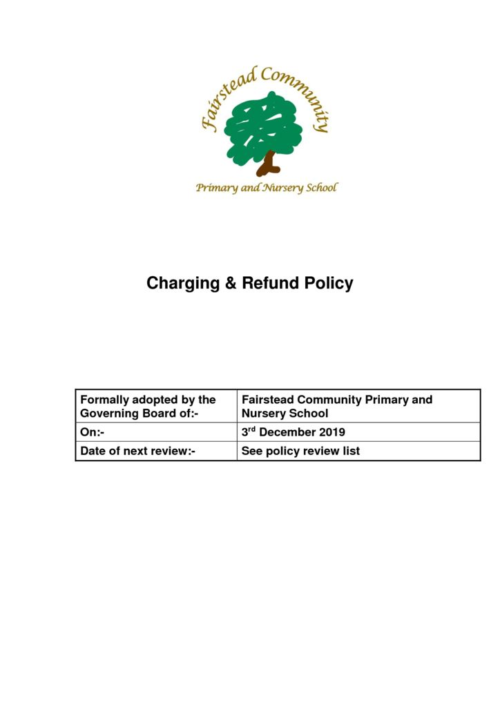 thumbnail of Policy – Charging & Refund 5.12.19)
