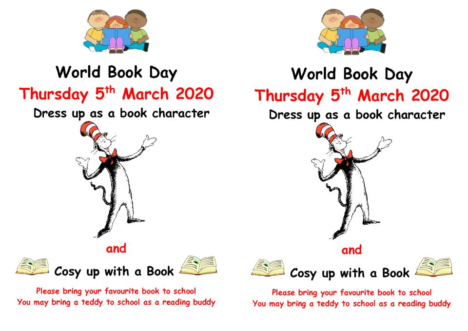 thumbnail of World Book Day 5 03 20 flyer