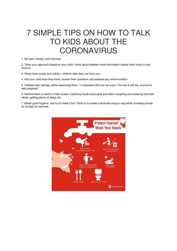 thumbnail of 7 SIMPLE TIPS ON HOW TO TALK TO CHILDREN ABOUT THE CORONAVIRUS