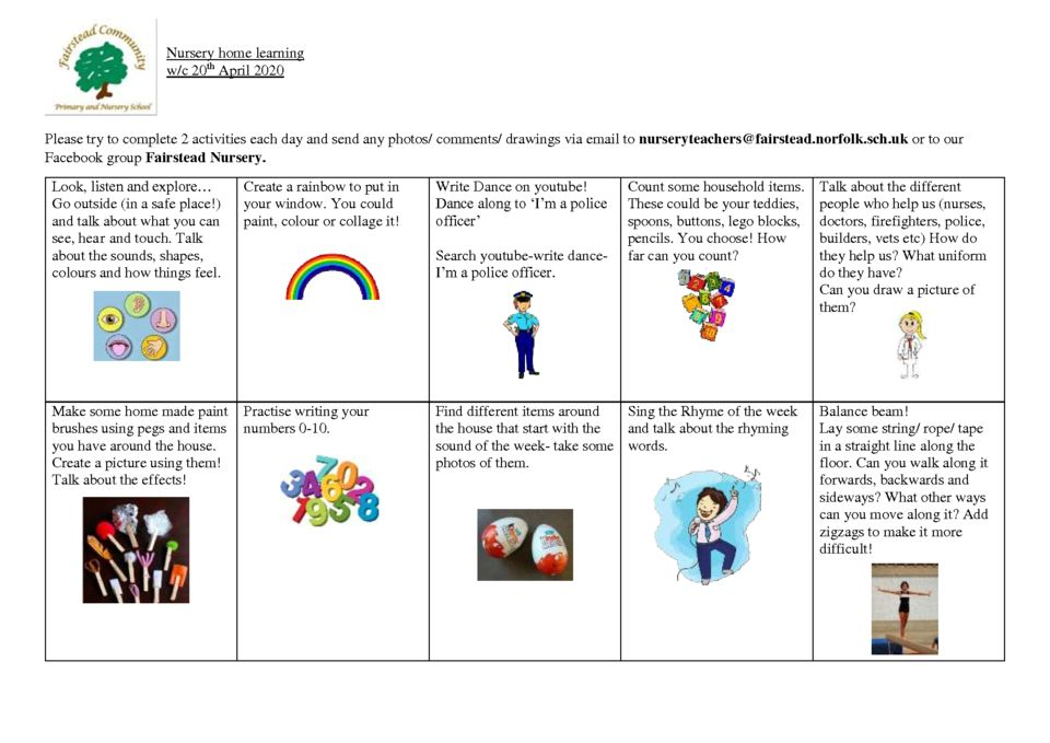 thumbnail of home learning 20.4.20