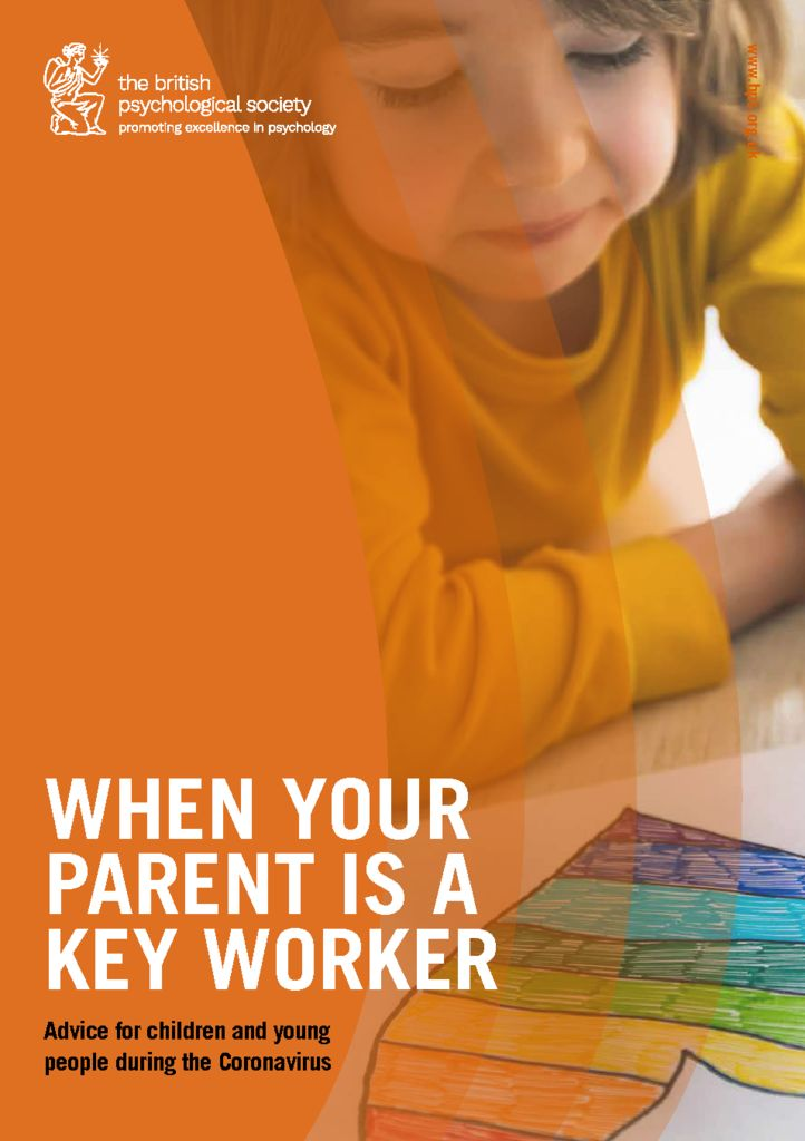 thumbnail of When your parent is a keyworker – advice for children and young people